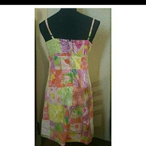 Lilly Pulitzer Dresses - Lilly Pulitzer Adjustable Spaghetti Strap Dress